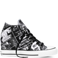 Converse - Chuck Taylor All Star Lux Andy Warhol - Black/White - Mid