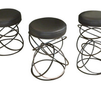 Global Views Dancing Ring Stools