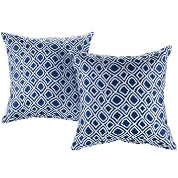 Modway Two Piece Outdoor Patio Pillow Set EEI-2401