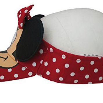 Disney Minnie Mouse Red Polka Dotted Designed Girls Visor Cap [2013]