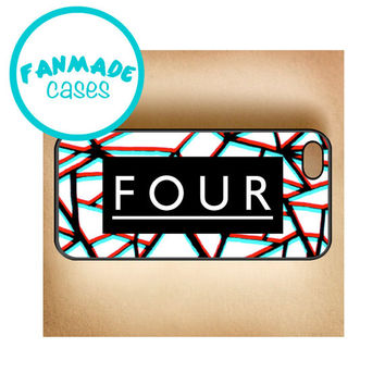 Four Cracked iPhone 4/4s/5/5s/5c/6/6 Plus, iPod 4/5, Samsung Galaxy s3/s4/s5 Rubber Case by FanMadeCases
