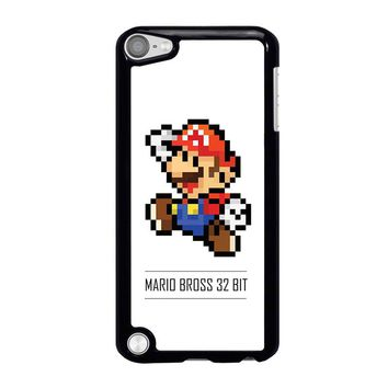 MARIO BROSS PIXEL 32 BIT iPod Touch 5 Case Cover