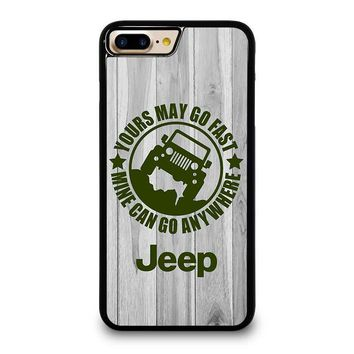 jeep yours may go fast iphone 4 4s 5 5s se 5c 6 6s 7 8 plus x case  number 1
