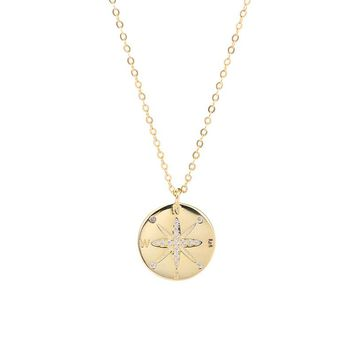 Lost Compass Necklace