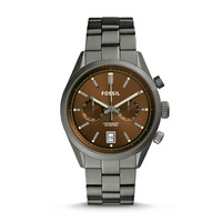 Del Rey Chronograph Watch, Chestnut