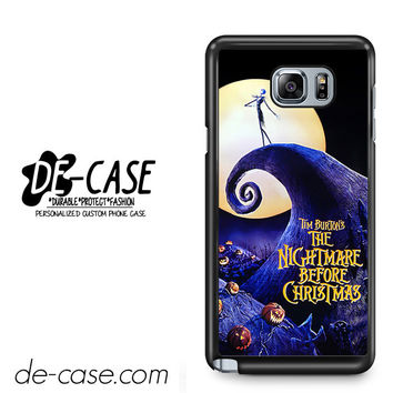 The Nightmare Before Christmas Poster For Samsung Galaxy Note 5 Case Phone Case Gift Present YO