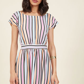 Sweet Spontaneity A-Line Dress