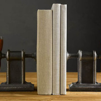 Vise Bookends | Cool Material