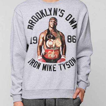 Iron Mike Tyson Pullover Sweatshirt- Grey S