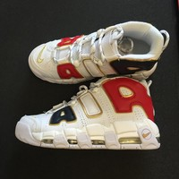 "Nike Air More Uptempo QS AIR ""AMERCAN CHAMPION"" Sneaker 414962-108"