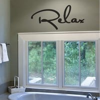 Wall Applique - Relax