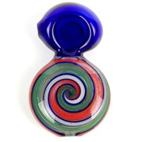 Swirled Color Disc Spoon