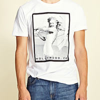 Marilyn Monroe Graphic Tee White/Black