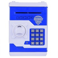 Kid coin bank Mini safe box Lock money box Electronic Bank Can For Children Kids Gift