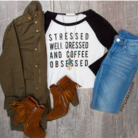 Stressed Well Dressed Top