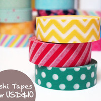 Japanese Washi Tape (set)
