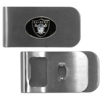 NFL - Oakland Raiders Bottle Opener Money Clip