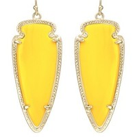 Skylar Earrings in Yellow - Kendra Scott Jewelry