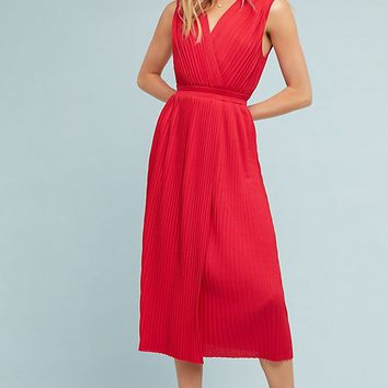 Tracy Reese Pleated Midi Dress