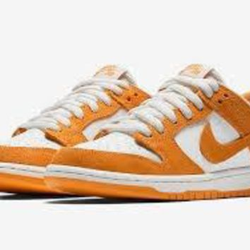 Nke Sb Zoom Dunk Low Circuit orange