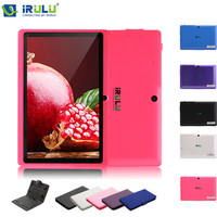 iRULU eXpro X1 7 Inch Android 4.4 Tablet PC Quad Core 8G ROM 1024*600 HD Dual Cam support Wifi with EN Keyboard Case Hot Selling