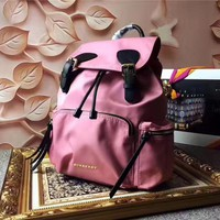 Burberry The Rucksack Canvas Backpack Bag