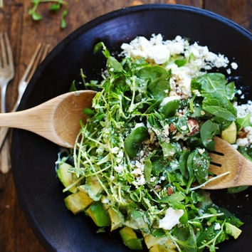 Green Goddess Detox Salad + Vacation Pictures - Pinch of Yum