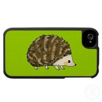 Cute hedgehog iPhone 4 cases from Zazzle.com