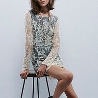 Free People Womens Lacey Bodycon Dress