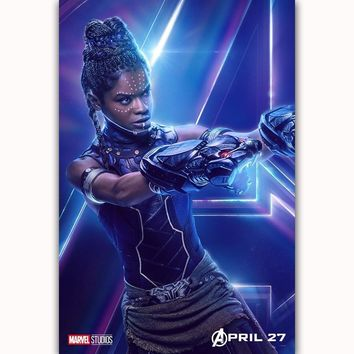 MQ3560 Avengers Infinity War Shuri DC Marvel Movie Characters Film Art Poster Silk Canvas Home Decoration Wall Picture Printings