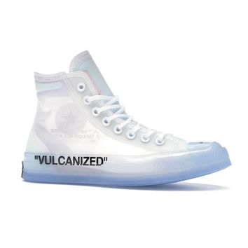 "Converse ""Vulcanized"" Chuck Taylor Sneakers by OFF-WHITE"