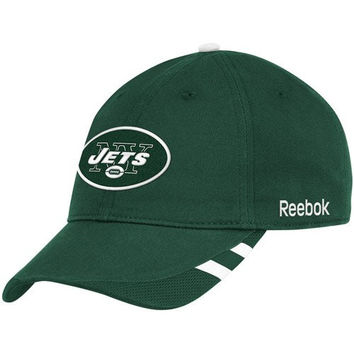 Reebok New York Jets 2011 Sideline Coach Slouch Adjustable Hat Adjustable