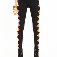 Twisted Cut Out Leggings