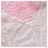 Peiliee Lingeire Pearly Mermaid Pastel Fairy Lace Body