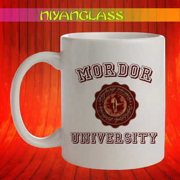 Mordor University mug, Mordor University cup, Mordor University,  personalized cup, funny mugs, birthday ceramic mug