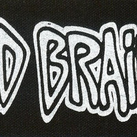 Bad Brains Sew On Canvas Patch White Letters Logo