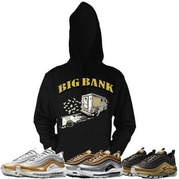 Air Max 97 Gold Sneaker Hoodies - BIG BANK