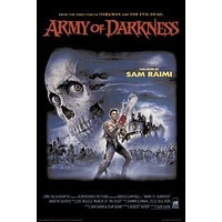 ARMY OF DARKNESS MOVIE POSTER - SKULL - Bruce Campbell