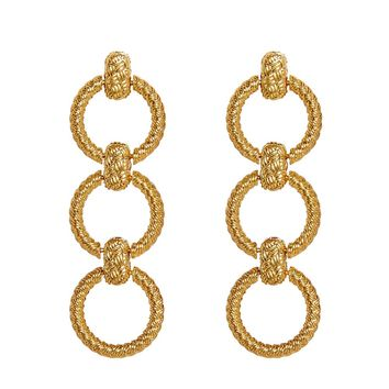 Circle Link Earrings – For Love & Lemons