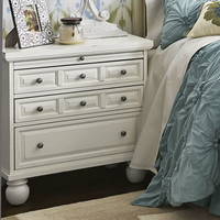 Ashworth Antique White Bedside Chest
