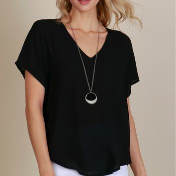 Beautiful Business Classic Blouse Black