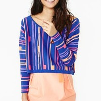 Nasty Gal Parallel Universe Knit - Final Sale