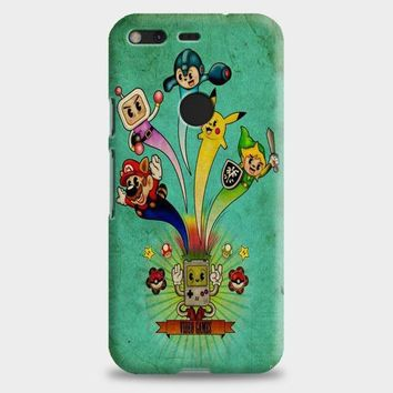 Nintendo Video Game Art Google Pixel XL 2 Case | casescraft