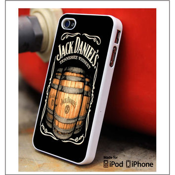 JACK DANIEL'S Tennessee whiskey logo iPhone 4s iPhone 5 iPhone 5s iPhone 6 case, Galaxy S3 Galaxy S4 Galaxy S5 Note 3 Note 4 case, iPod 4 5 Case