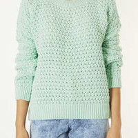 Knitted Bobble Stitch Jumper - New In This Week  - New In