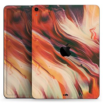 "Liquid Abstract Paint Remix V1 - Full Body Skin Decal for the Apple iPad Pro 12.9"", 11"", 10.5"", 9.7"", Air or Mini (All Models Available)"