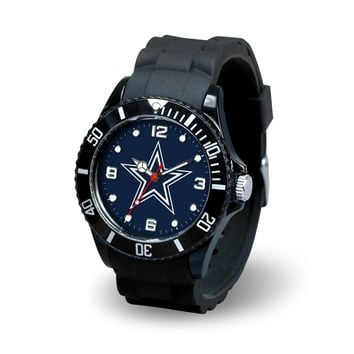Dallas Cowboys NFL Football Team Men's Black Sparo Spirit Watch