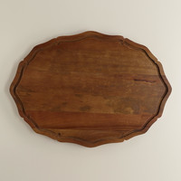 Scalloped Trencher Cutting Board - World Market