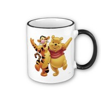 Winnie the Pooh Winne and Tigger Coffee Mug from Zazzle.com