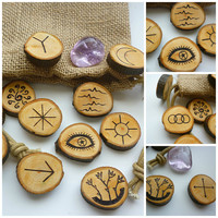 Witch Rune Set wiccan pagan